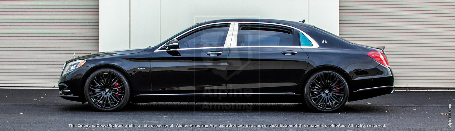 Alpine Armorings Luxury Armored Mercedes-Benz S-Class Sedan