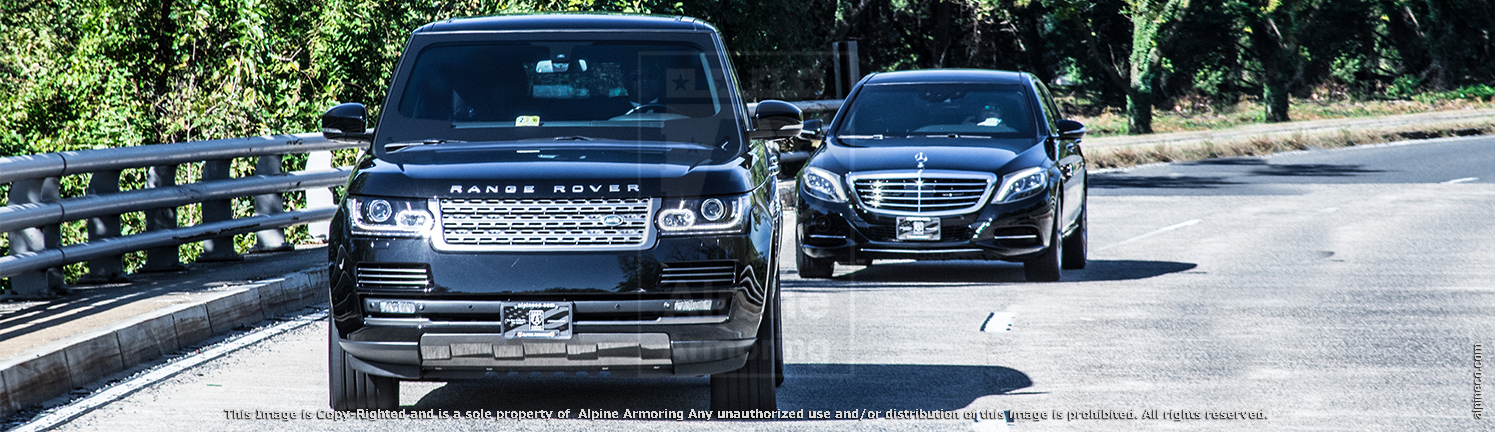 Alpine Armorings Armored Mercedes-Benz S550 Sedan