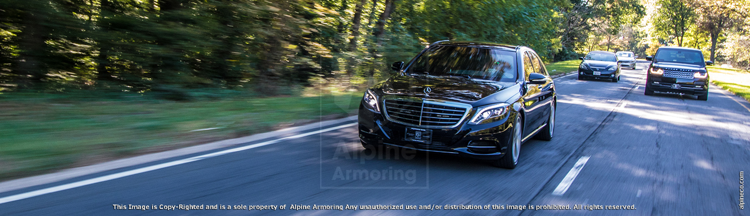 Armored Range Rover Autobiography LWB & Armored Mercedes-Benz S550